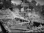 Construction of the raising of the Mundaring Weir wall