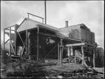 Kalgoorlie's first battery, erected on Croesus Mine in 1894