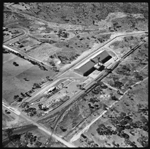 Aerial photographs of the wheat bins, Wagin, 23 March 1965