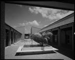 340403PD: Courtyard with seating, 1967