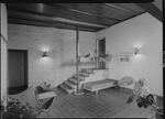 Tiled entry hall, 1962