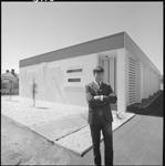345985PD: Outside of Martin Clarke Recording Studios, 1968.